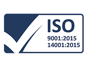 ISO 9001: 2015    ISO 14001: 2015